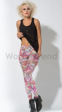 Hotlook Field of Flowers 70 Den Strumpfhose
