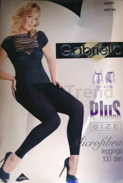 Gabriella Plus Size 100 Den Leggings